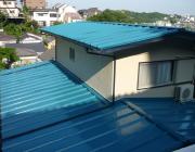 金属屋根の写真