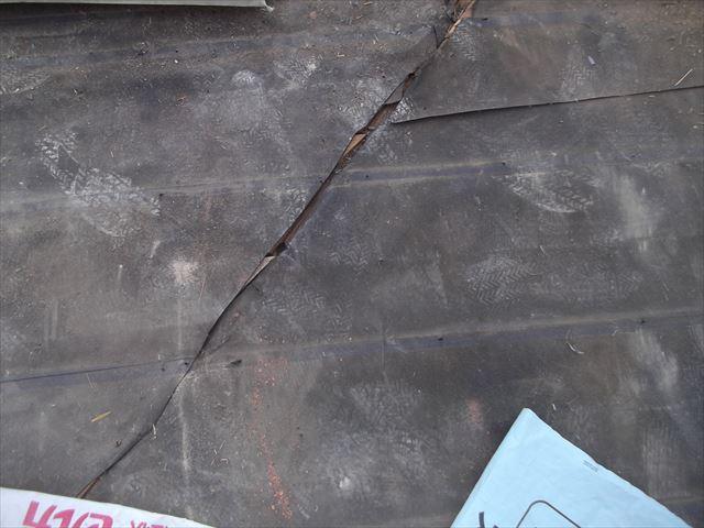 Y市にセメント瓦から陶器瓦のセラムーF2の平板に葺き替え工事に行ってきました。