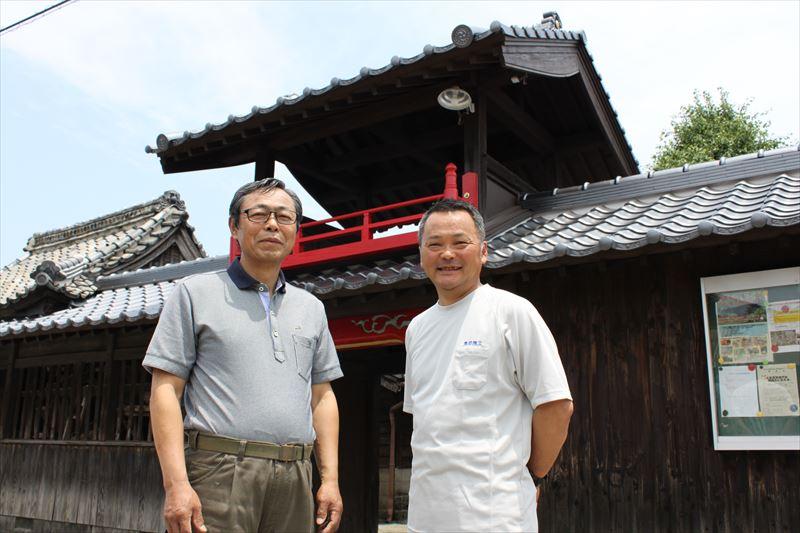 神埼市の迎島天満宮・楼門・公民館の瓦屋根葺き替え工事を行いましたM様の声