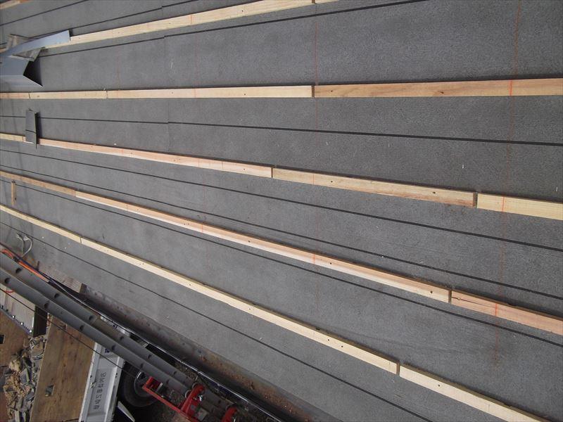 佐賀市嘉瀬町強風被害セメント瓦屋根葺き替え工事2
