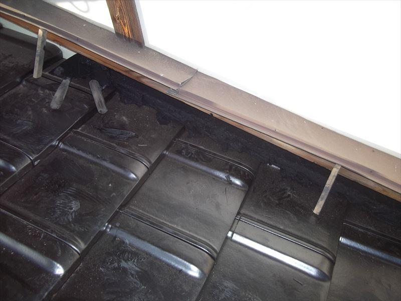 神埼市神埼町S邸木造建築陶器瓦屋根葺き替え工事5