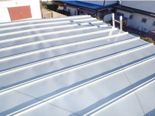 トタン屋根の塗装:施工後